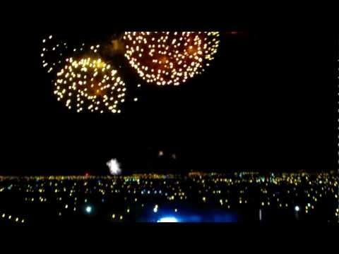 Video: Fireworks for Karla's Coronation, Queen of Carnavál de Mazatlán 2012