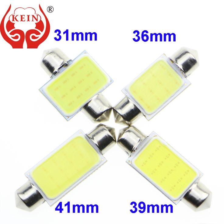 KEIN (R) C3W C10W C5W LED COB lámpara de lectura Del Coche Luz de Puerta la luz del tronco Luz de la Matrícula PARA 31 MM 36 MM 39 MM 42 MM