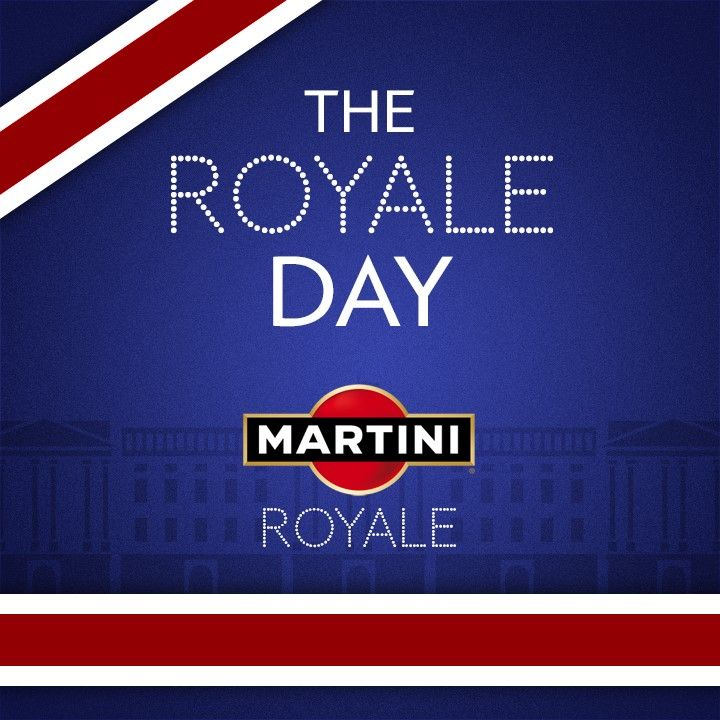 """Advertising reacting quickly to the royal birth - Martini France """"The Royale Day"""""""