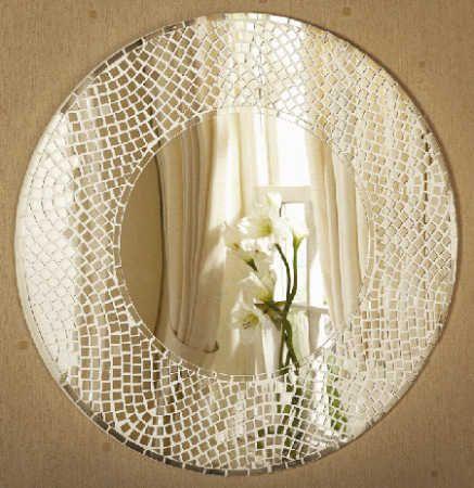 mosaic mirror diy project