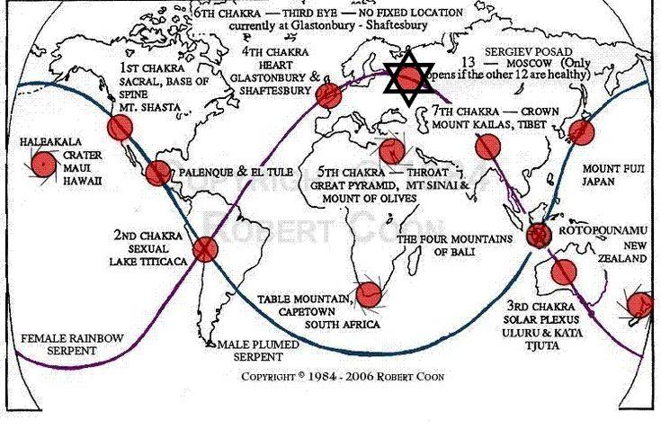 Qué son los chakras terrestres,cuales son, cómo generan los campos electromagnéticos de la tierra?Cuáles son sus ubicaciónes geográficas y sus funciones generales.