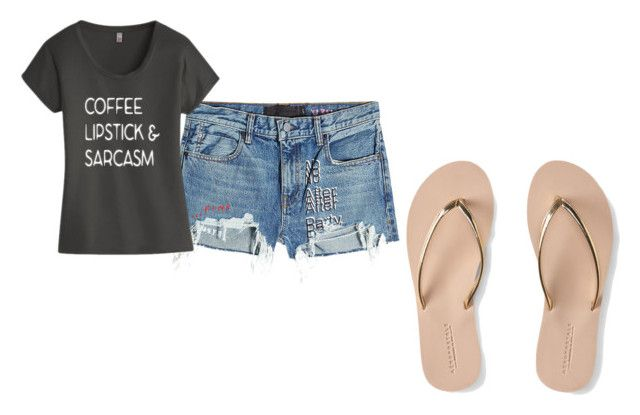 """t shart"" by rachd on Polyvore featuring T By Alexander Wang, TKO Tees and Aéropostale"