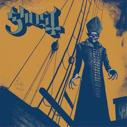 """ARTWORK Nuova recensione: stavolta è il turno della cover art di """"If You Have Ghost"""" dei Ghost (o Ghost B.C., conseguentemente al cambio del monicker). La copertina in questione è fregiata da un ottimo artista, ormai uno dei pilastri nel campo dell'illustrazione di copertine, ossia Mattias Frisk, e ritrae il vocalist della band, Papa Emeritus, fuso in maniera sinistra con il celebre Nosferatu di Murnau. (Nima)"""