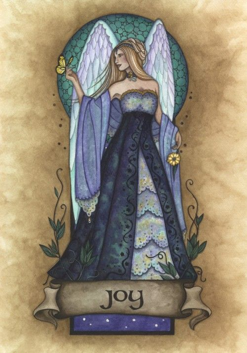 Joy Angel Virtue-