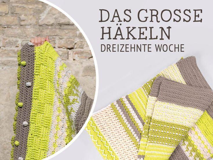 DIY-Anleitung: Decke Nagato häkeln – Das große Häkeln Woche 13 via DaWanda.com