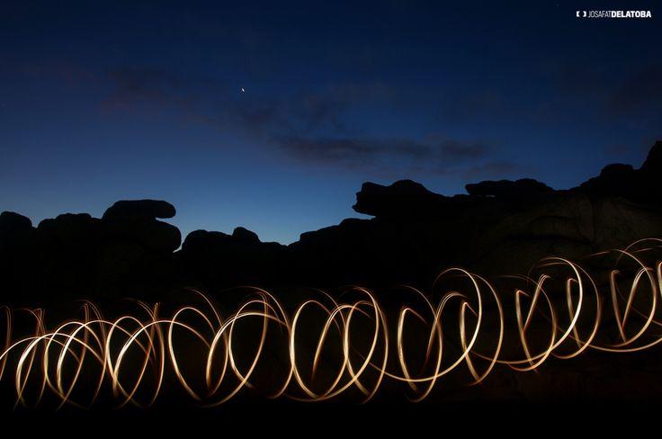 #lightpainting at #loscabos