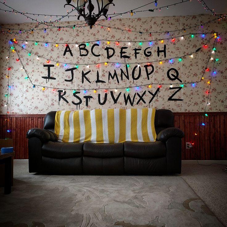 Stranger Things living room decor - Imgur