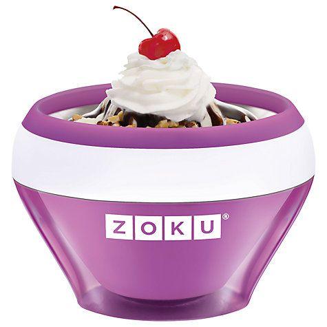 Buy Zoku Ice Cream Maker Online at johnlewis.com