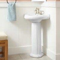 Image result for corner pedistal sink