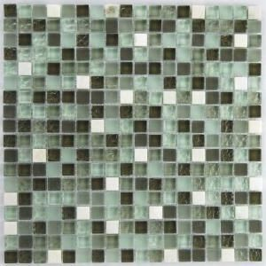 another glass tile mosaic