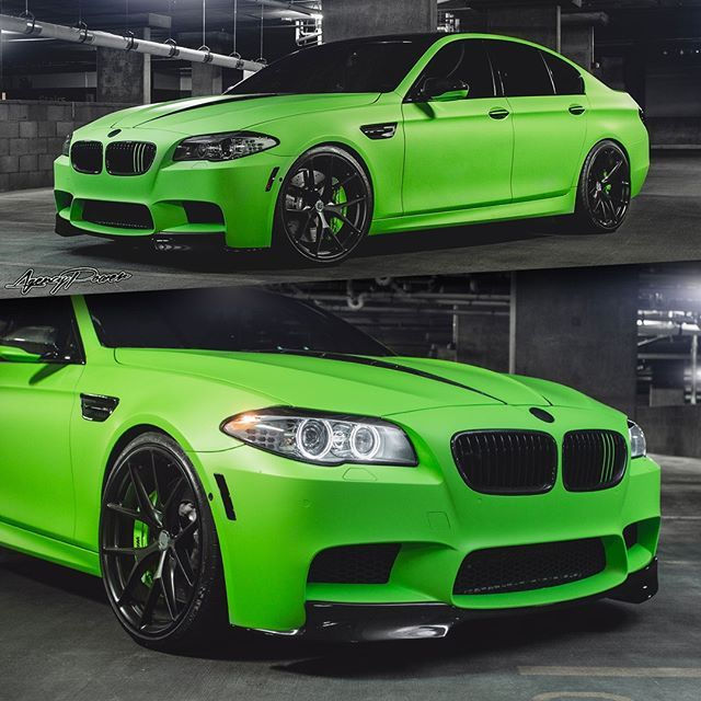 Going Green On St Patrick S Day Here Is A Bmw M5 F10 Featuring