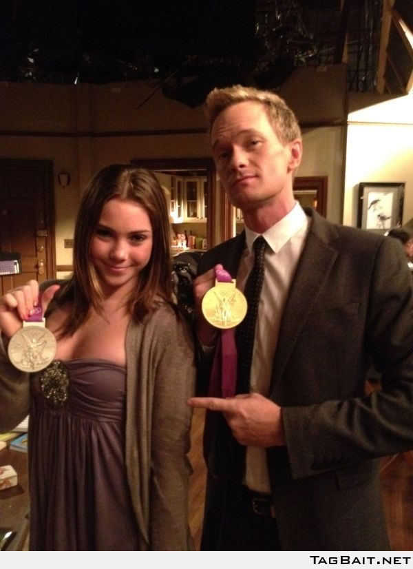 The only person who impresses McKayla Maroney... Neil Patrick Harris