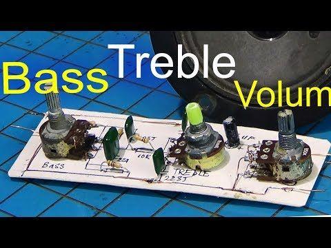 Bass treble circuit, how to make bass treble circuit amplifier using