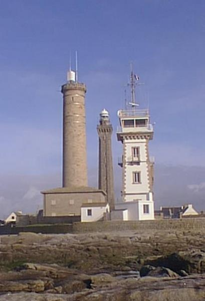 Les trois phares de PENMARC'H, Bretagne France