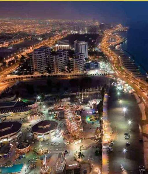 Jeddah, Saudi Arabia - you'd have to visit before deciding ...