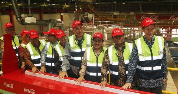 Coca-Cola Resmikan Pabrik Baru Dengan Nilai Investasi USD 500 Juta | Berita Daerah