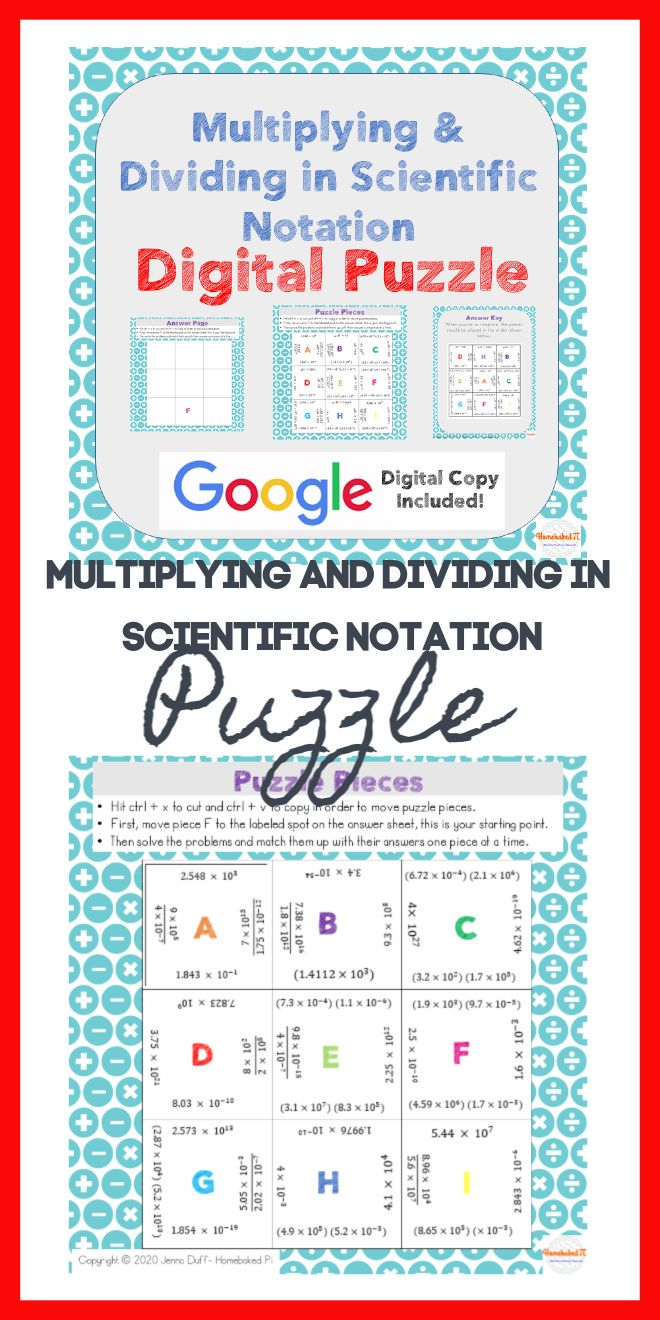 Pin On Scientific Notation Scientific notation addition and
