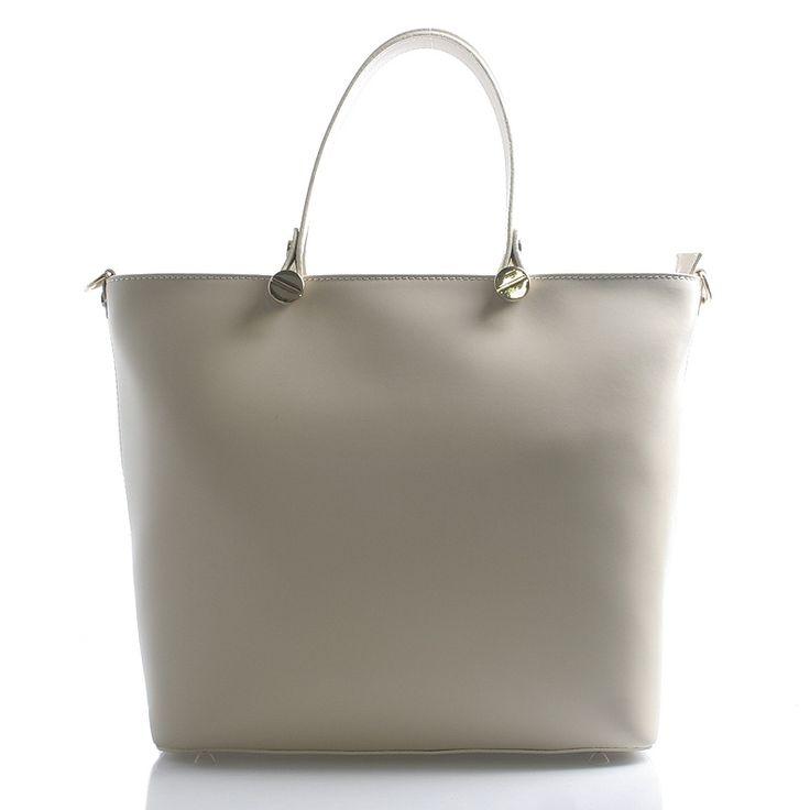 Luxusní kožená kabelka s přehlednými vnitřními kapsičkami. Nastavitelný popruh přes rameno.