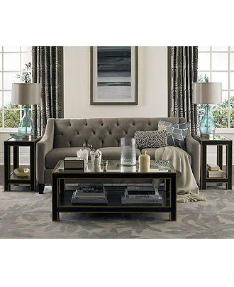 Chloe Fabric Velvet Metro Sofa Living Room Furniture Collection