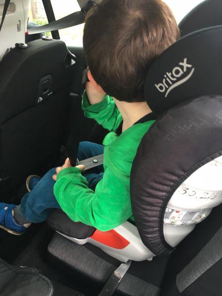 Wir haben im Urlaub von The Stork Exchange die Britax-Römer KidFix XP Autositze geliehen und getestet. Autositztest. Kindersitztest. Sitze der Gruppe II/III