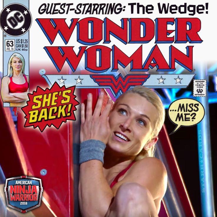 Jessie Graff American Ninja Warrior | Jessie Graf makes Wonder Woman come to life on 'American Ninja Warrior ...