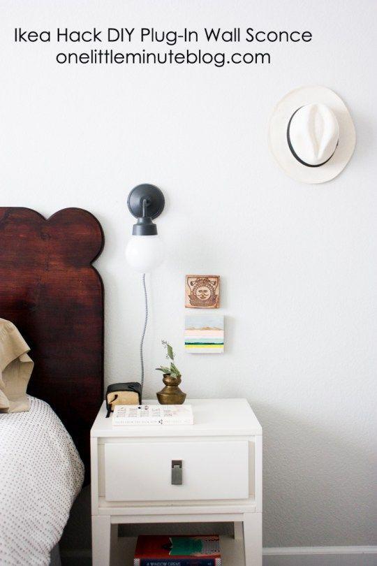 Ikea Hack Plug In Sconces-35