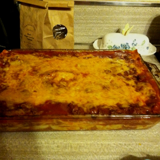 My lasagna- my son wants me to find a way to send him some in California, he's in the marines and he's craving it...My Sons, Southern Girls, Favorite Recipe