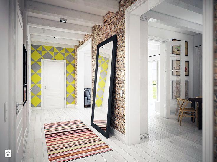 Skandynawski minimalizm - Hol / Przedpokój - Styl Skandynawski - NatusDESIGN