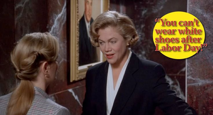 Serial Mom White Shoes After Labor Day