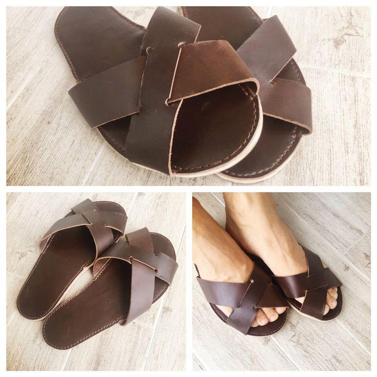 leather_diy_sandals_slipper_man