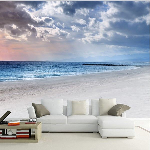 17 best ideas about beach mural on pinterest how to have for Beach scene mural wallpaper