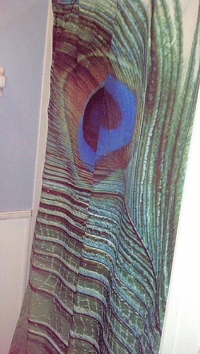 Peacock bathroom