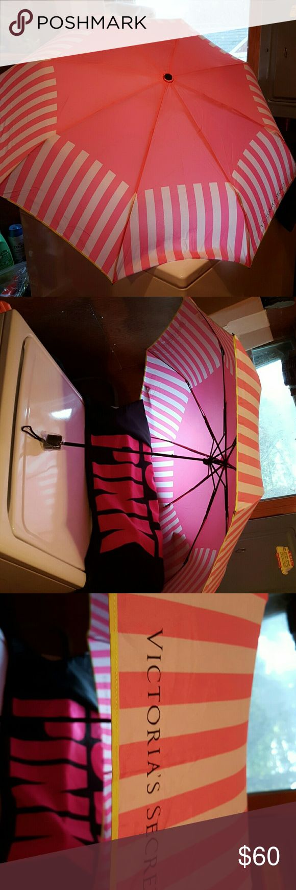 BRAND NEW VICTORIA SECRET UMBRELLA/W CASE/BOX I BOUGHT THIS LAST YEAR?  BEEN STORED!  NEVER TOOK OUT OF UMBRELLA SLEEVE/CASE UNTIL NOW! ONLY FOR PICS! PERFECT NEW CONDITION WILL COME TO YOU IN VS/UMBRELLA SLEEVE/CASE & BOX! POSH TAKES 20%!  I'M MAY PRICE TOO HIGH I AM ?????ALWAYS WILLING TO NEGOTIATE!???? PLEASE USE OFFER BUTTON &SCALE IV GOT WAY!?? TOO MUCH! VS/PINK #1000+  PIECES IF NOT MORE!  ASK I MAY HAVE WILL B LISTING HUGE 'LOVE PINK'  LOT OF NEW/& USED CLOTHES ASAP  715-340-6934. IF…