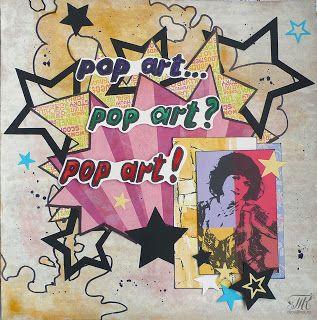 Скрапотерапия: Pop art... Pop art? Pop art!