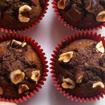 nutella cupcakes met maar 3 benodigdheden.