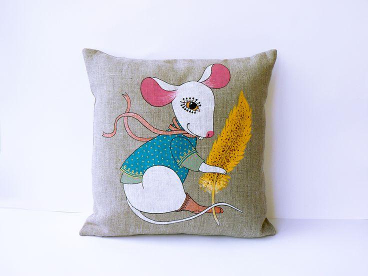 #mouse, #pillow, #handmade, #newtdesign, #ideas, #design,
