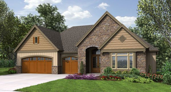 Craftsman House Plan 9451 From The House Designers With