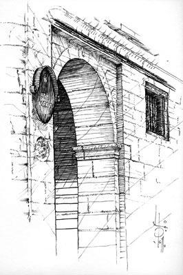 Detalle de una calle de pueblo, Orduña (2006) pablouria.com