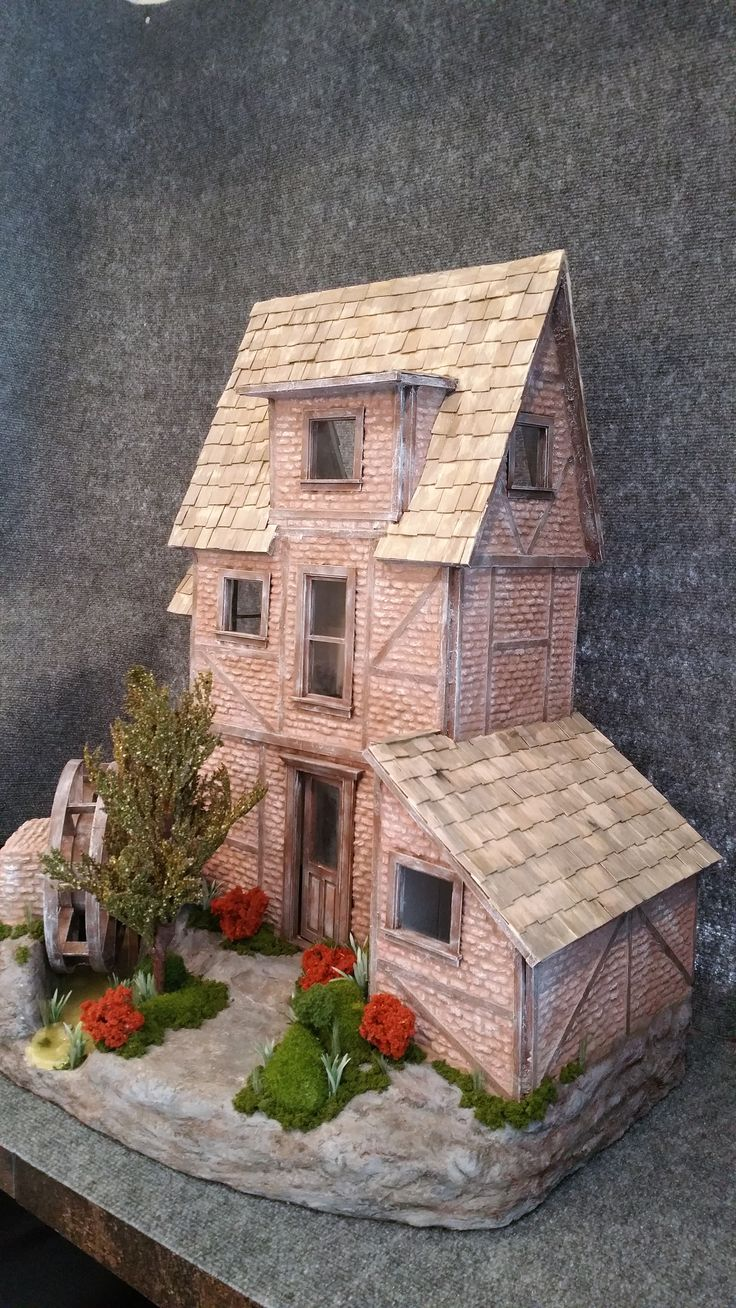 blogspot com best miniature cottages stancssi at on houses cottage gregg by images pinterest waterwheel greggsminiatureimaginations stan