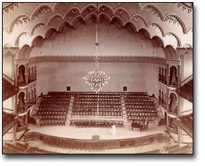 Interior of Massey Hall, Toronto, [ca. 1890]
