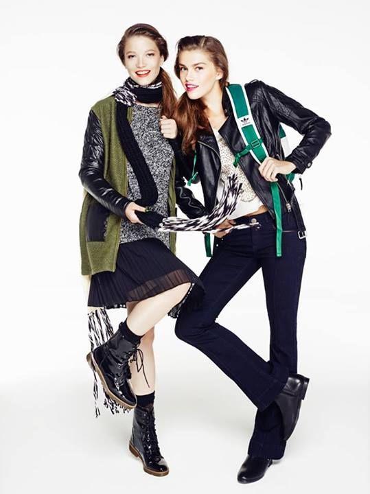 90'ların grunge tarzı, kamuflaj desenleri ve deri detayları ile geri dönüyor! www.boyner.com.tr #love #fashion #style