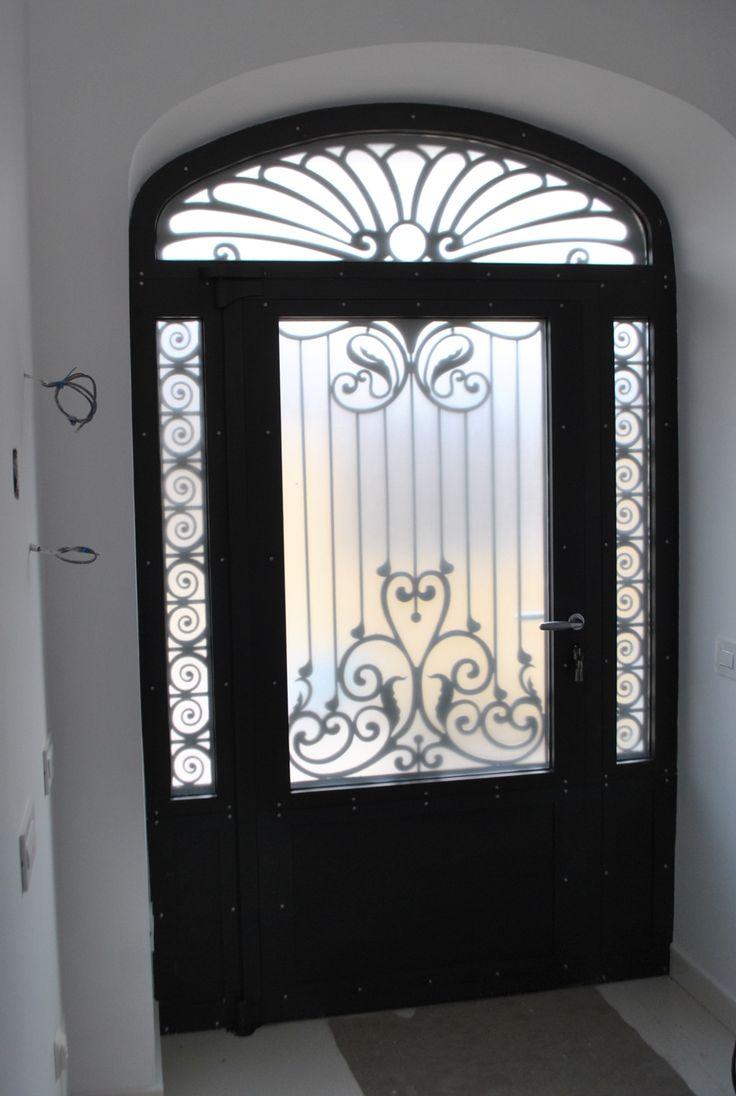 Door - Metallic carpentry with thermal break