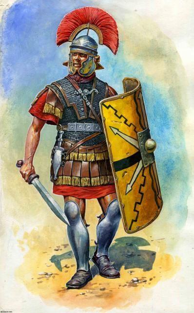 Centurión romano, siglo I