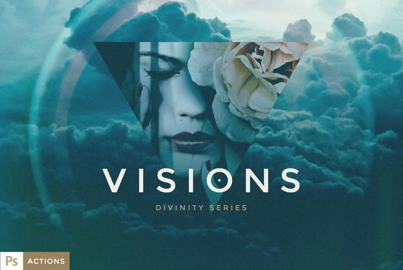 VISIONS Actions - Divinity Series by Forefathers on Creative Market
