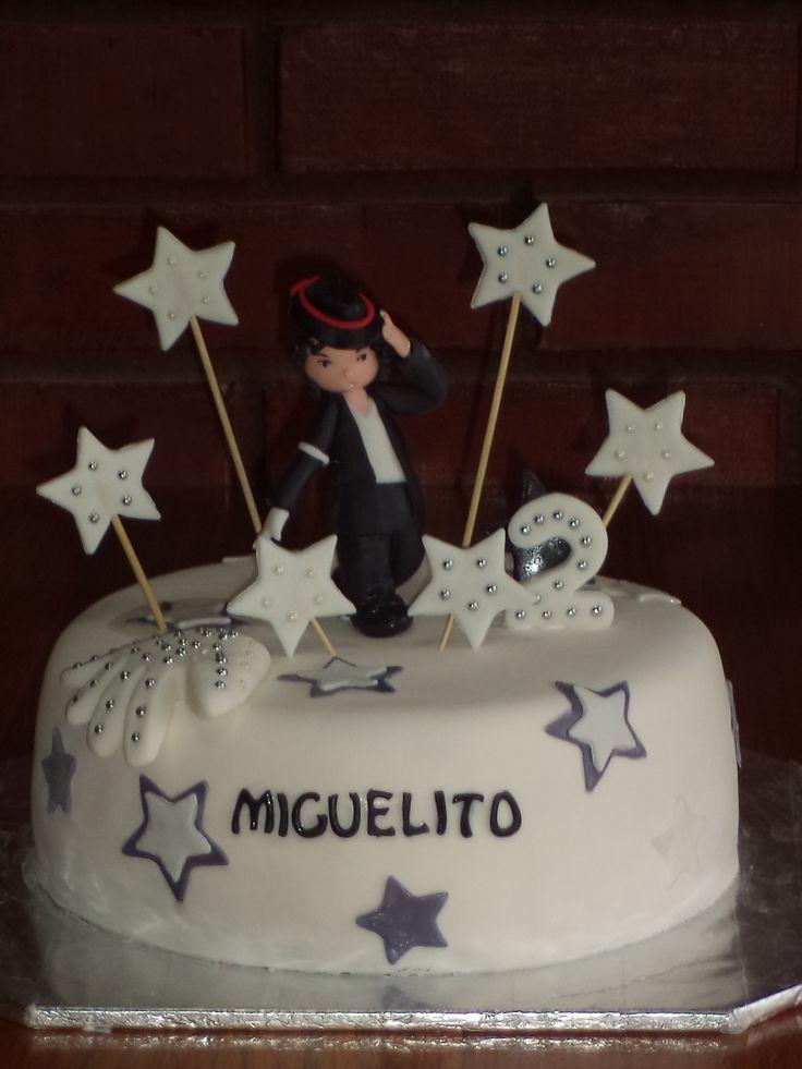 #MichaelJackson #cake creada por Volovan Productos