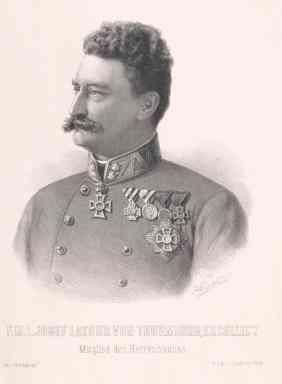 Joseph Graf Latour von Thurmburg il secondo tutore di ROdolfo