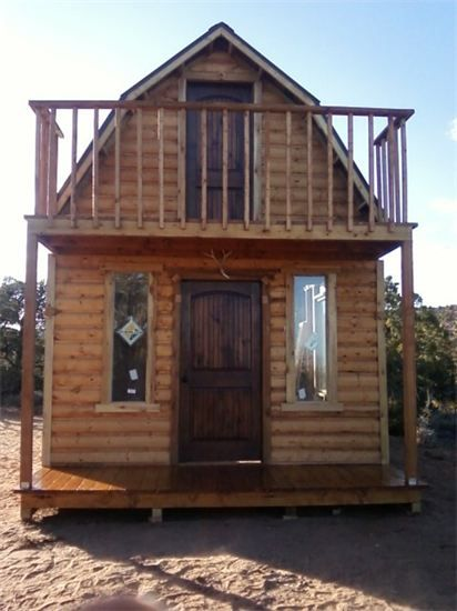 Custom Mini Cabin Gambrel Model Upgrade With Loft Ft Log Siding 12500 A Frame Roof