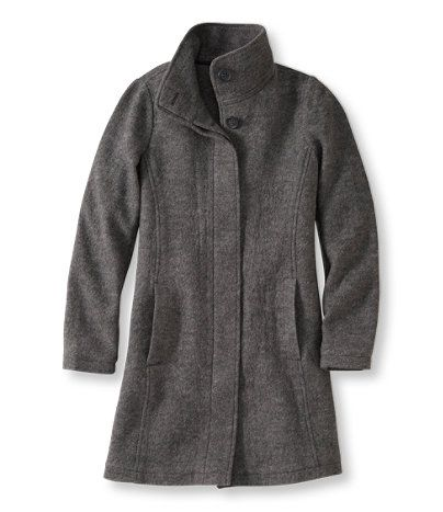 Bean's Boiled Wool Coat