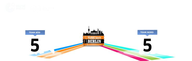 Ticket nach Berlin - A project by the  Goethe-Institut which takes you on an interactive tour of Germany