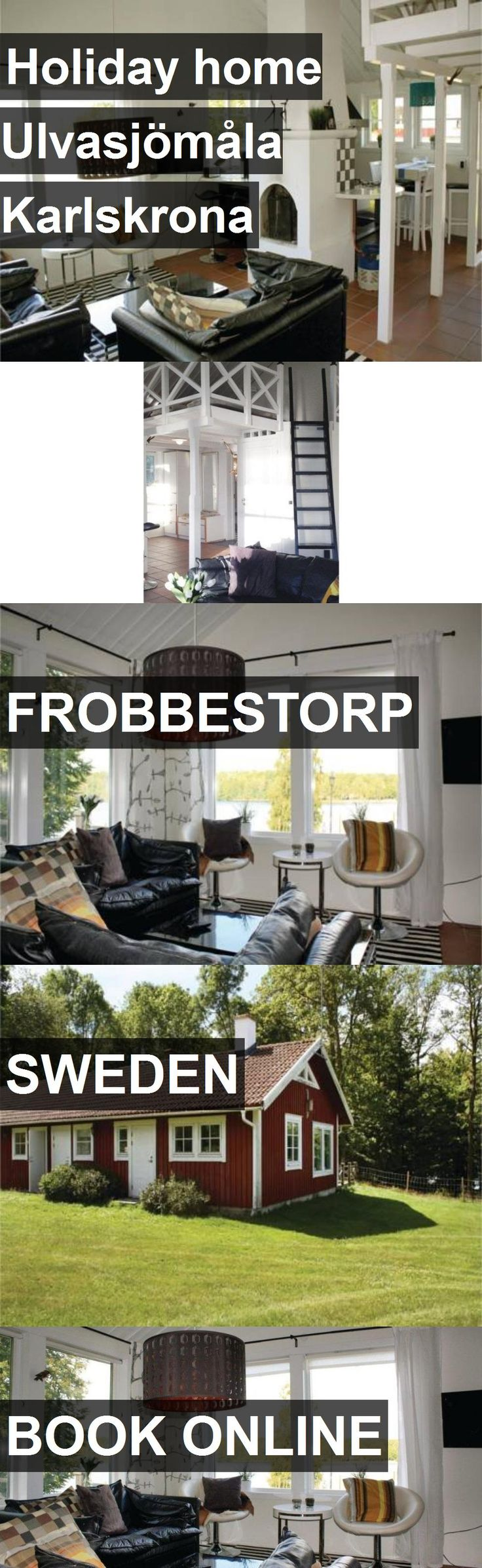 Hotel Holiday home Ulvasjömåla Karlskrona in Frobbestorp, Sweden. For more information, photos, reviews and best prices please follow the link. #Sweden #Frobbestorp #travel #vacation #hotel
